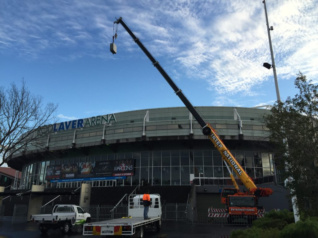 Rod Laver Arena Roof Mechanical Upgrades