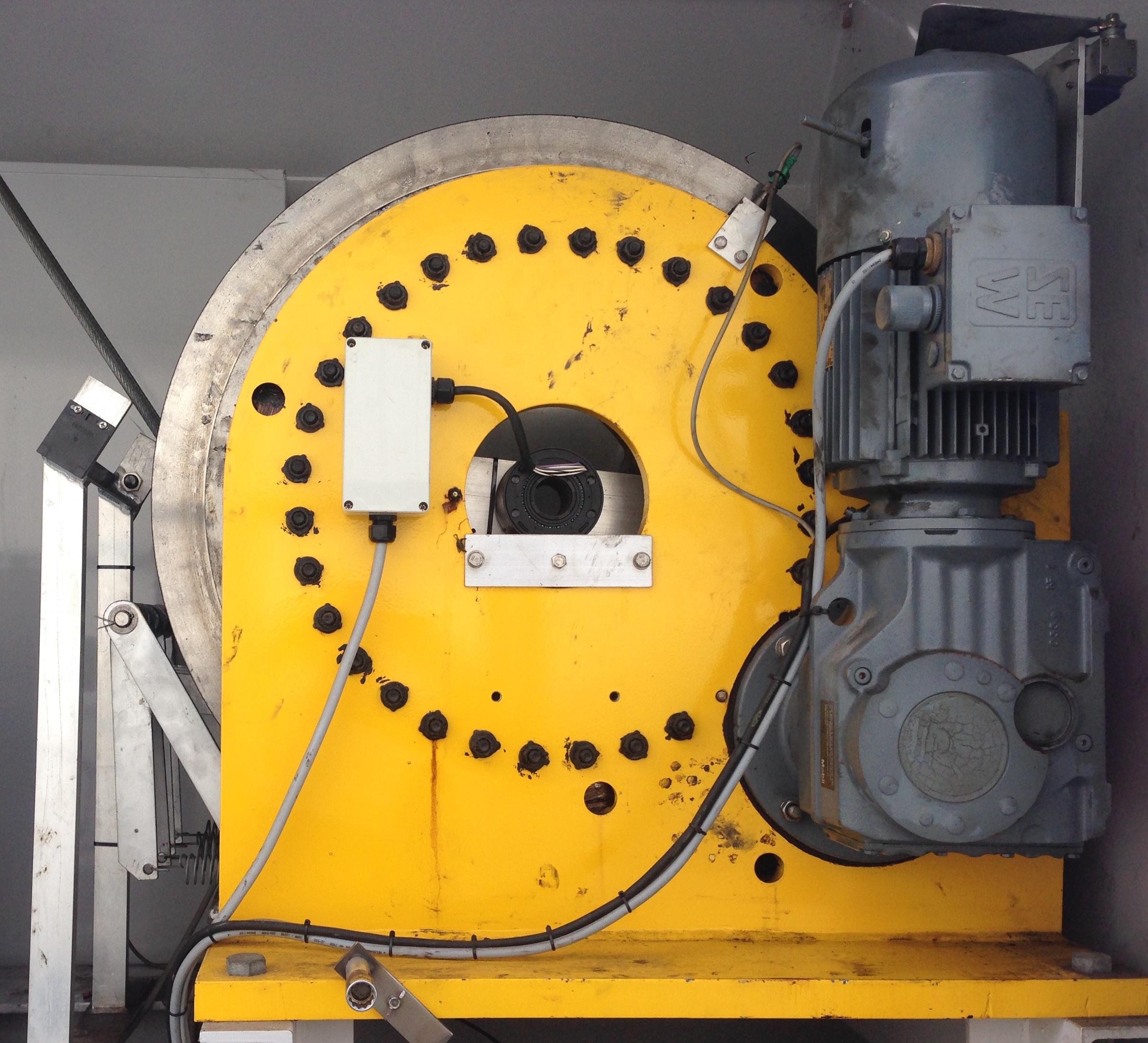 Colliers Crane upgrade - Multi Layering Hoist