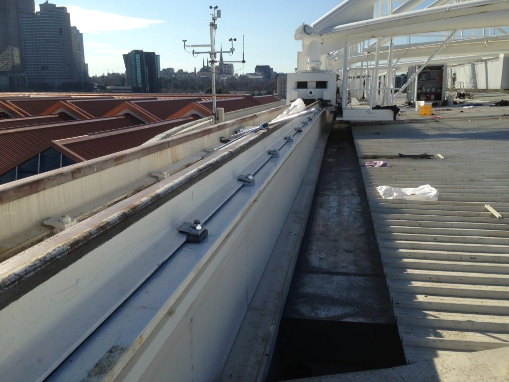 Rod Laver Arena Roof Mechanical Upgrade