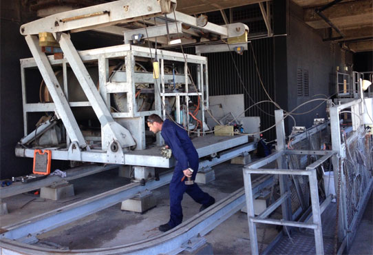 Rialto Tower - Plant inspection and maintenance