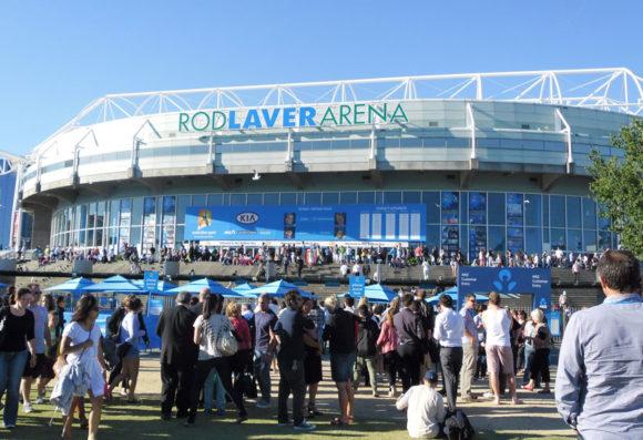 Rod Laver Arena Tennis Open